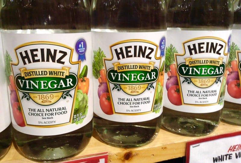 3 White Vinegar