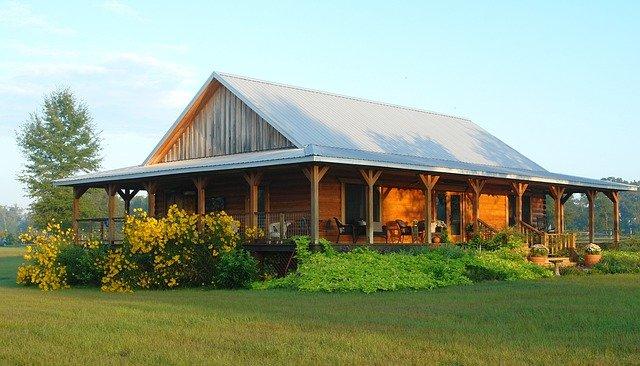 4 timber home