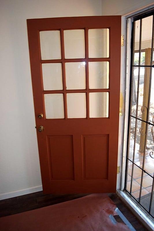 42 Wrought Iron Security Door