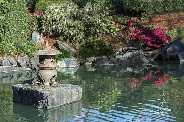 54 Zen Japanese Pond
