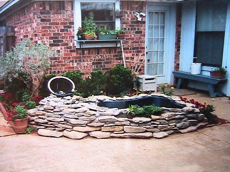 62 Brick Patio Pond