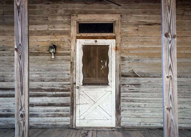 7 Rustic and Weathered Doorway