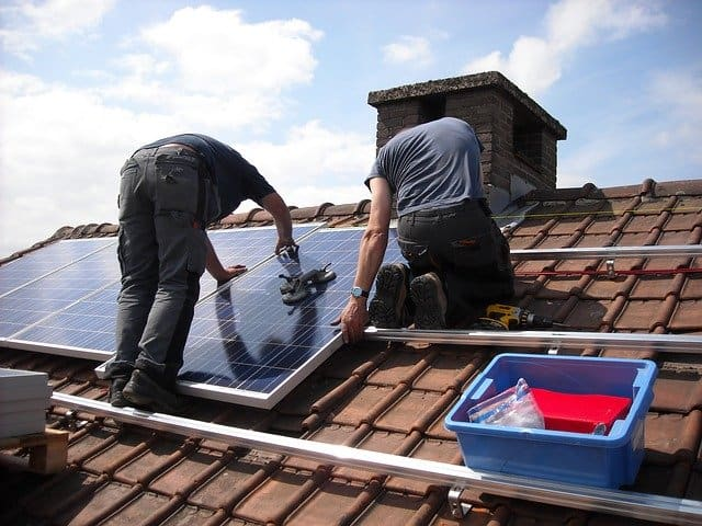 7 solar panels