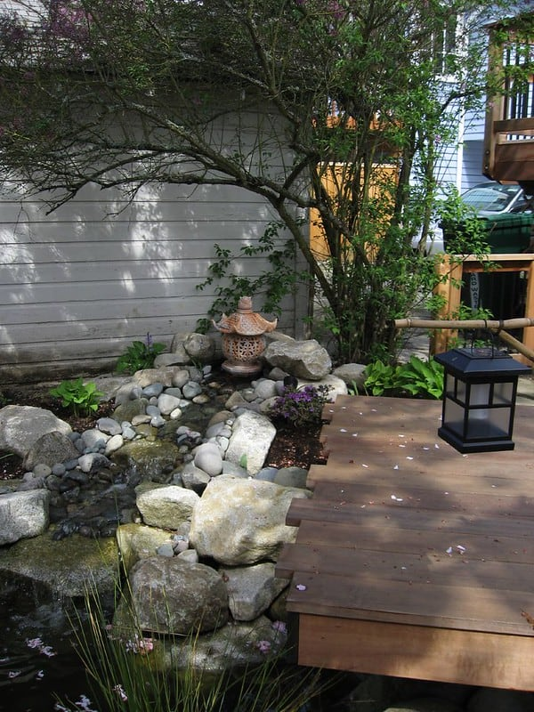70 Pond with Decking