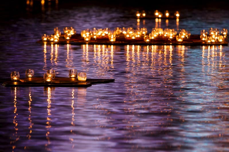 78 Candles in the Water