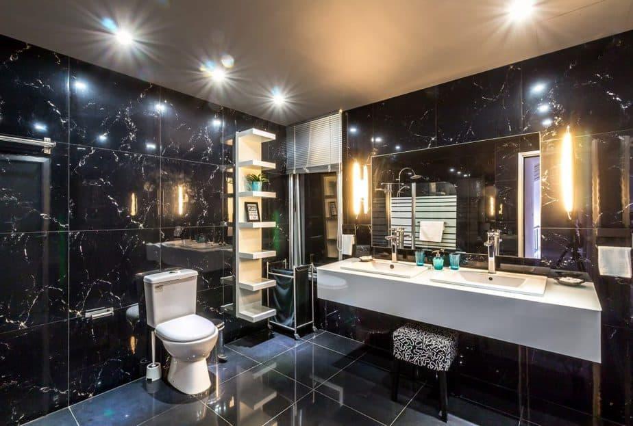 Bathroom Remodel 6 Tiles