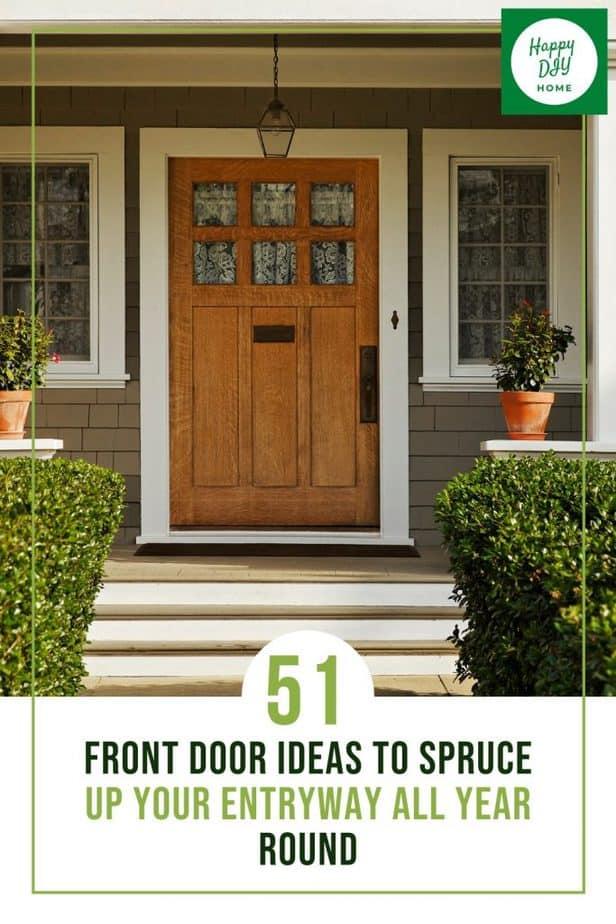 Front Door Ideas 1