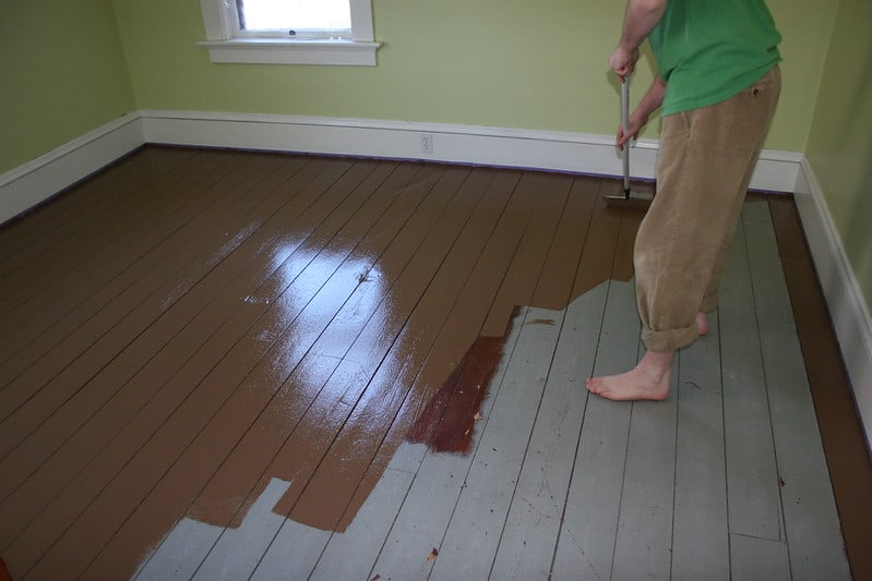 1 Painting the Floor Inside