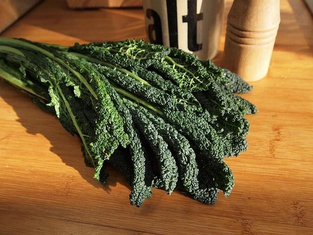 10 Harvested Kale