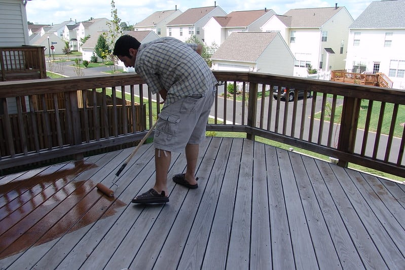 2 Outdoor Patio Painting