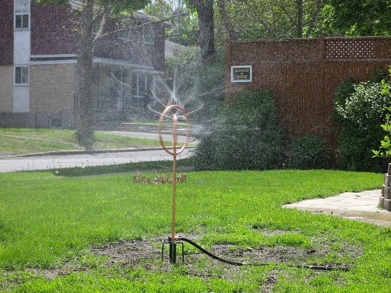 2 Tall Yard Sprinkler