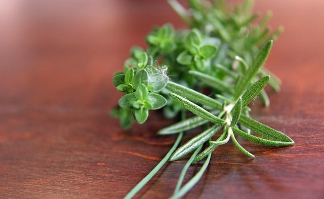 8 Thyme and Rosemary
