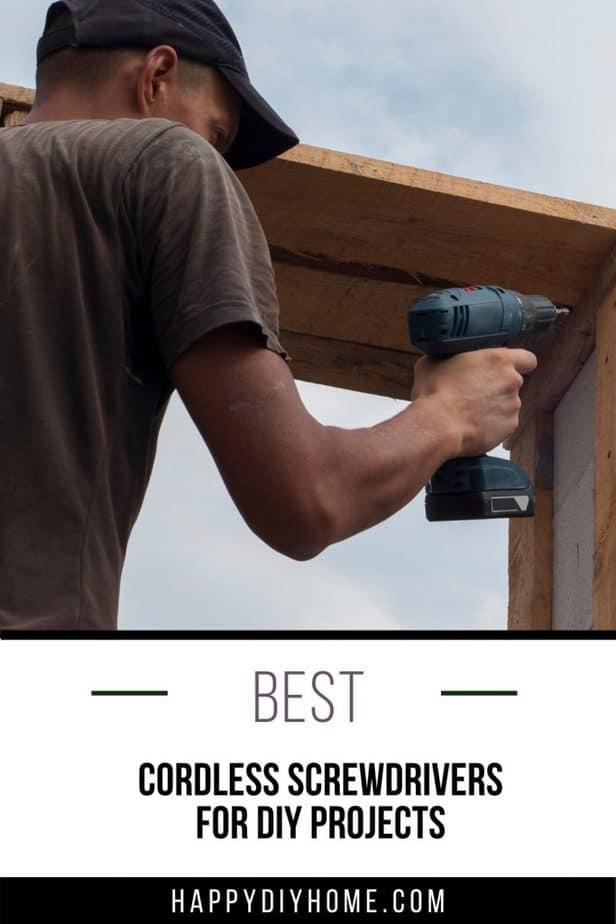 Best Cordless Screwdriver 1