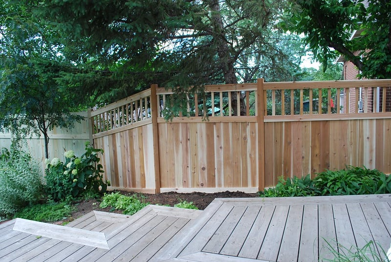 1 New Privacy Fence