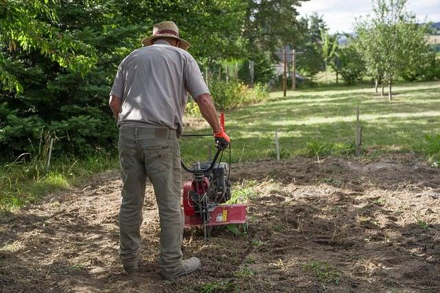 11 Man Tilling Soil