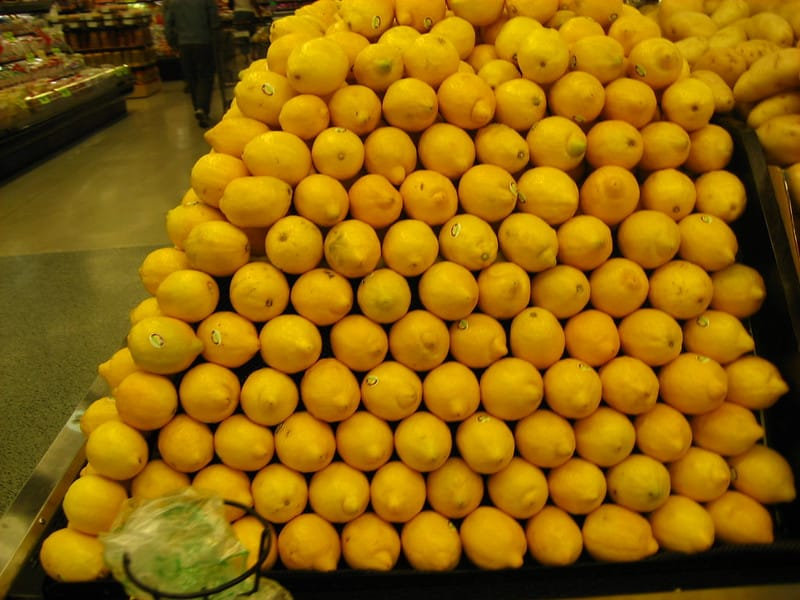 12 Organic Lemon