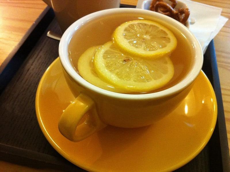 17 Lemon Tea