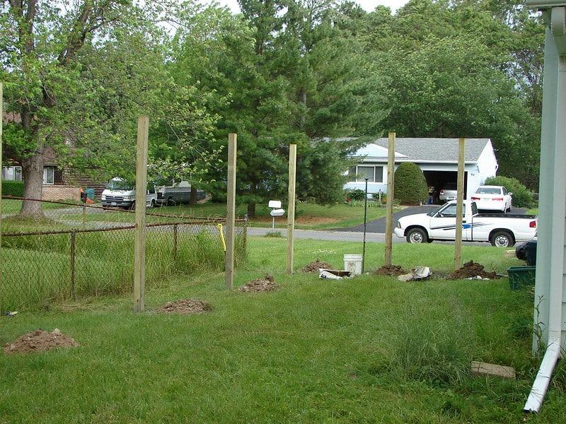 4 Fence Posts
