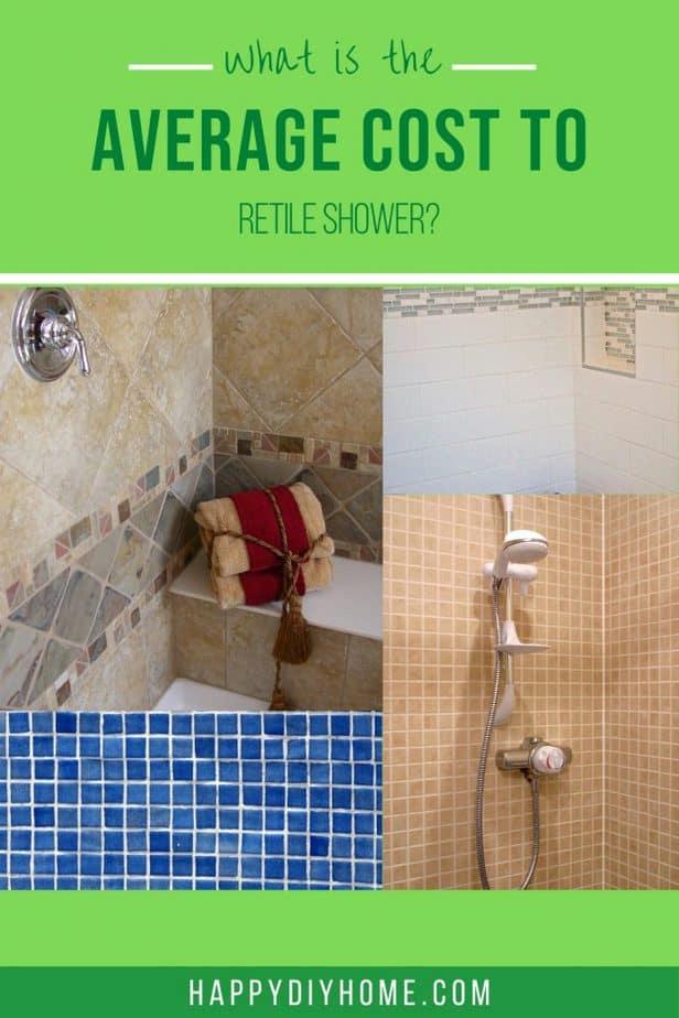 Average Cost Retile a Shower 1