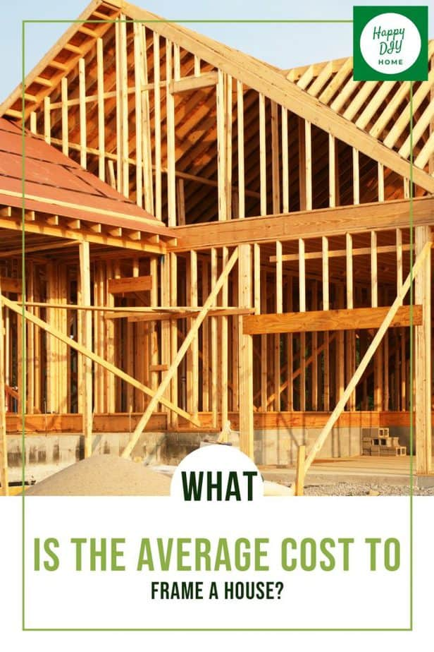 Average Cost to Frame a House 1