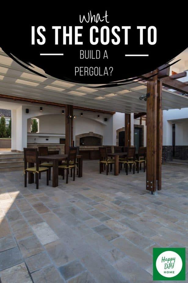 Cost to Build a Pergola 2