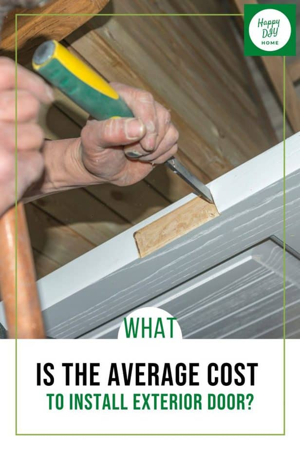 Cost to Install Exterior Door 1
