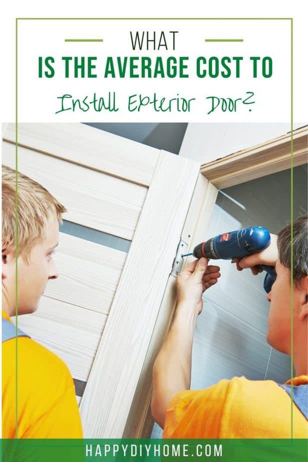 Cost to Install Exterior Door 2