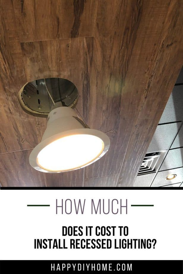 Cost to Install Recessed Lighting 1