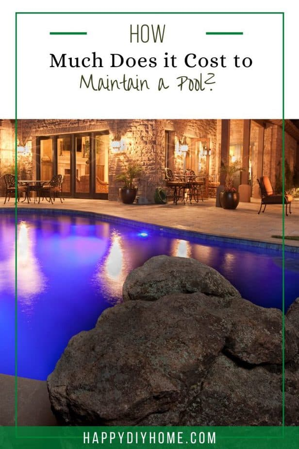 Cost to Maintain a Pool 1