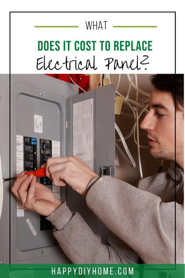 Cost to Replace Electrical Panel 1
