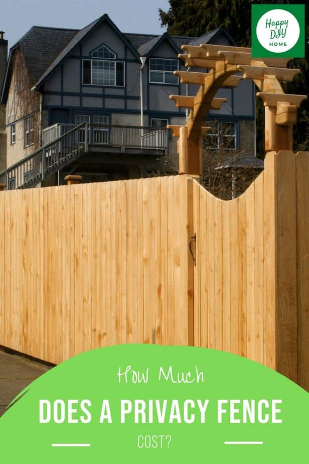 Privacy Fence Cost 2