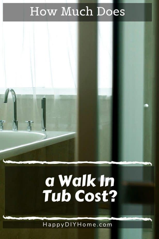 Walk In Tub Cost 1