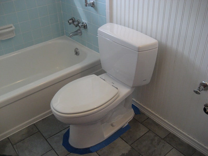 1 Finished Toilet Installation