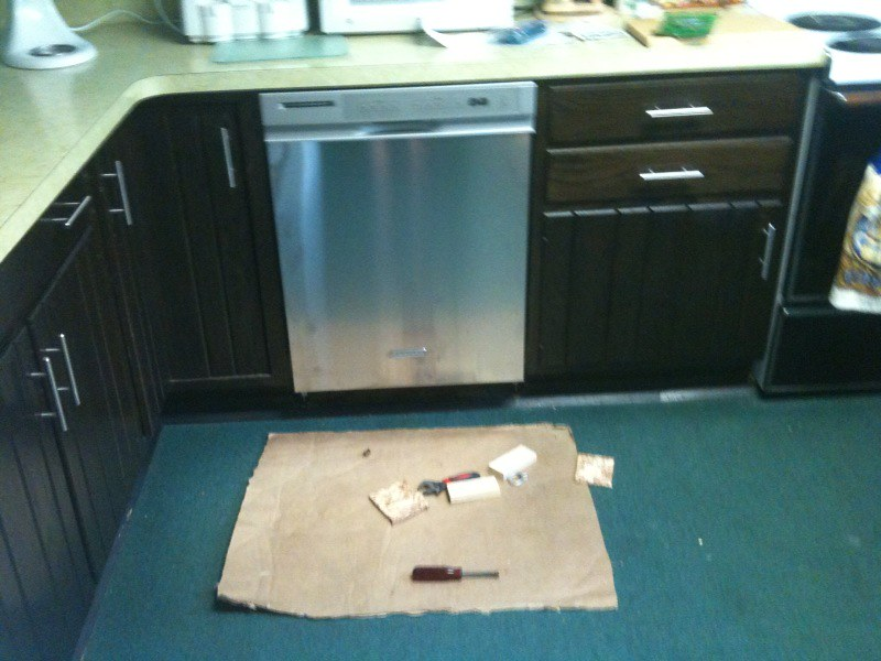 1 New Dishwasher Installation