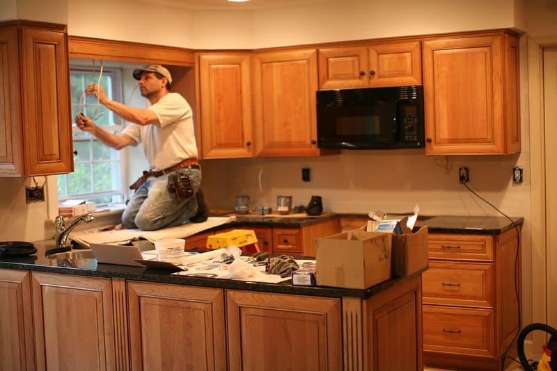 1 Start Installing Cabinets