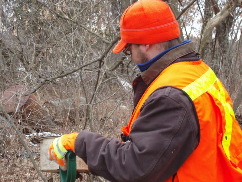 1 Surveying a Wooded Area