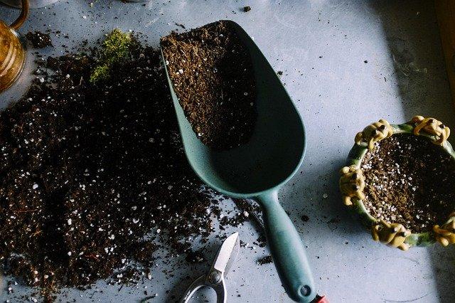 3 potting soil