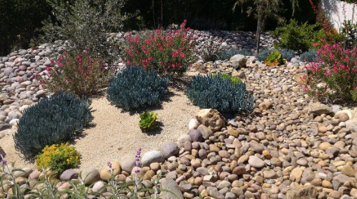8. Dry creek beds dont necessarily need to be linear