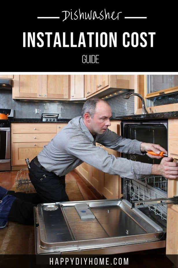 Dishwasher Installation Cost 1