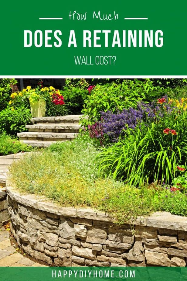 Retaining Wall Cost Cover 1