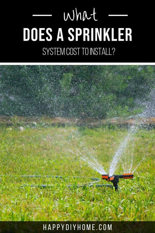 Sprinkler System Cost Cover 1