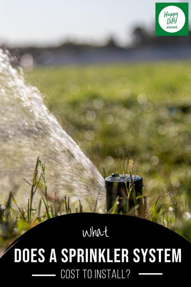 Sprinkler System Cost Cover 2