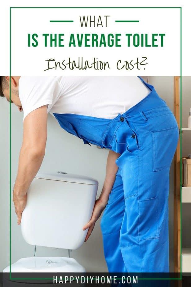 Toilet Installation Cost 2