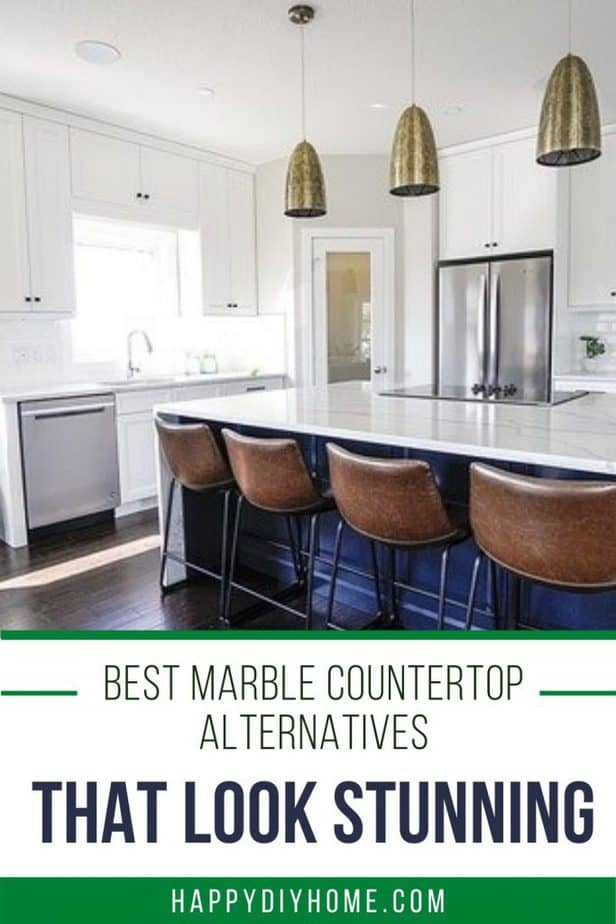 marble countertop alternatives 1