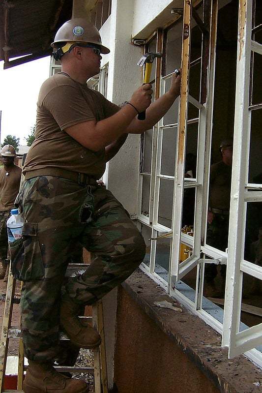 1 Fixing a Window Frame
