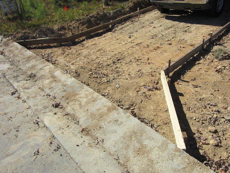 1 Pouring a New Concrete Driveway