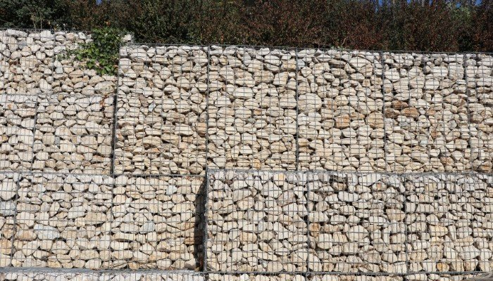 10. Gabions are not affixed to the ground rather the individual cages