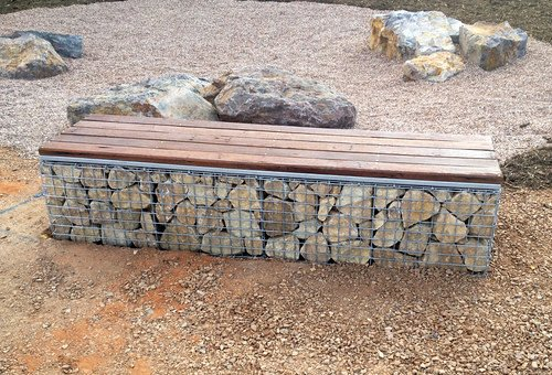 13. From a design perspective some say gabion structures are too bulky and that is