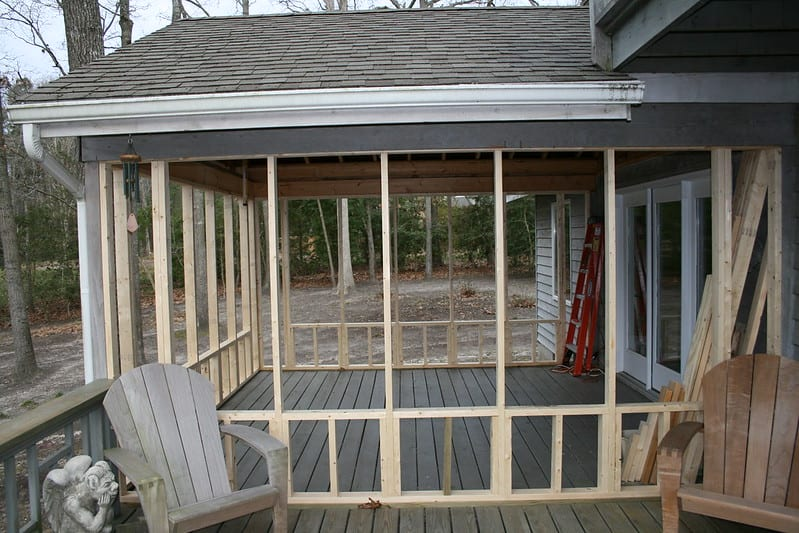 2 Framing in a New Type of Sunroom