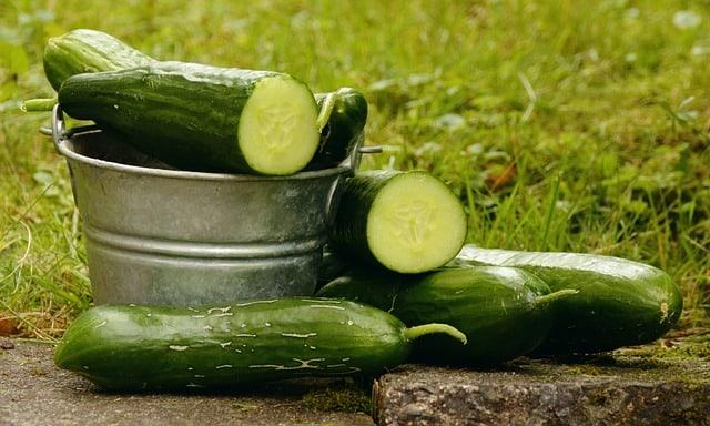 4 Cucumbers